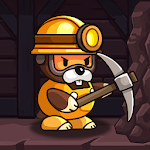 Cover Image of Download Popo's Mine - Idle Mineral Tycoon APK